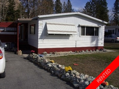 Okanagan Falls Mobile Home  for rent:  2 bedroom 900 sq.ft. (Listed 2015-07-01)