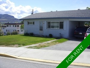 Osoyoos House for rent:  3 bedroom 1,200 sq.ft. (Listed 2015-12-01)