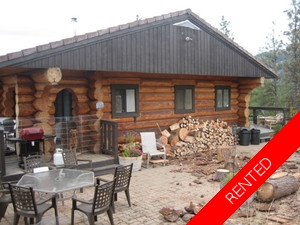Willowbrook Log House for rent:  3 bedroom 2,000 sq.ft. (Listed 2016-12-01)