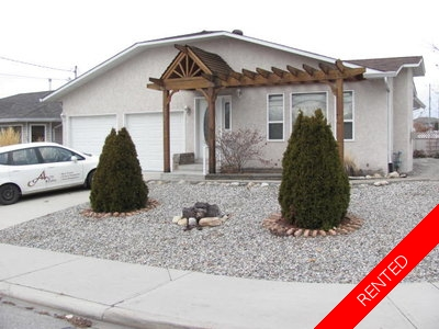 Penticton House for rent:  2 bedroom 1,324 sq.ft.
